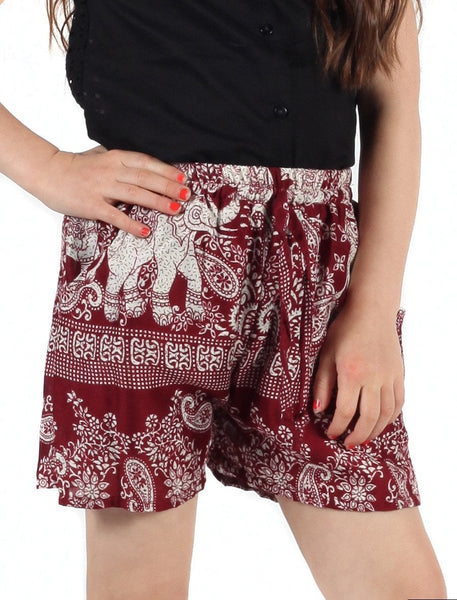 Kids Lydia Shorts - The Elephant Pants - 1