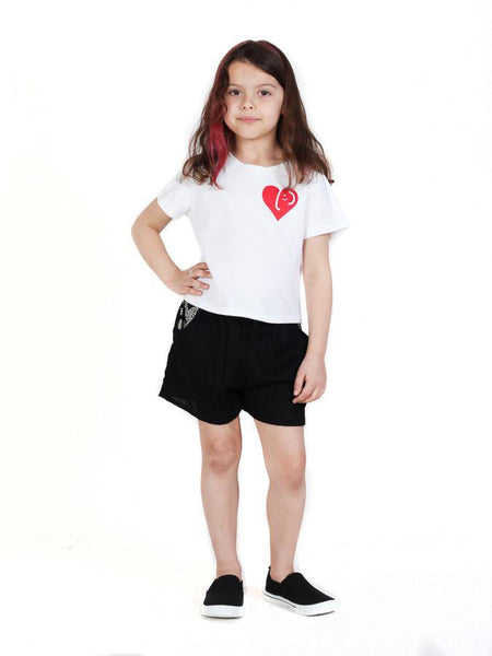 Kids Rombo All-Black Shorts - The Elephant Pants - 5