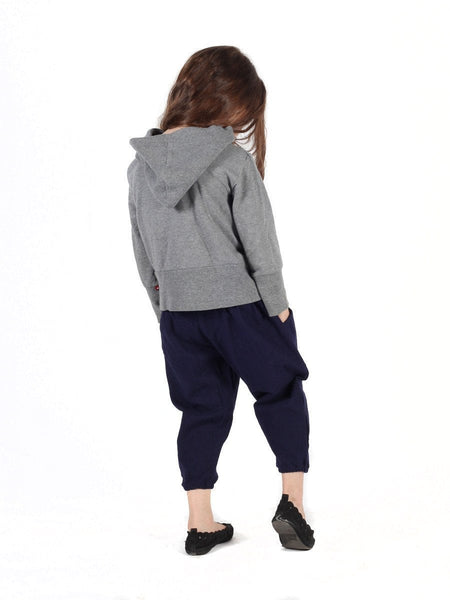 Kids Vita Navy Jogger Pants - The Elephant Pants - 4