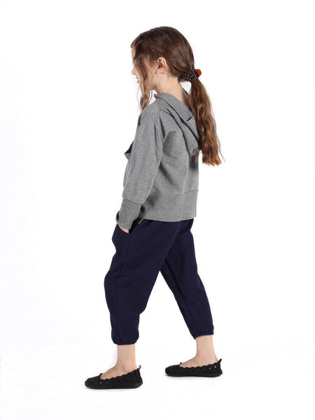 Kids Vita Navy Jogger Pants - The Elephant Pants - 3