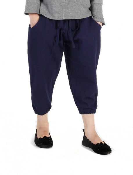 Kids Vita Navy Jogger Pants - The Elephant Pants - 1