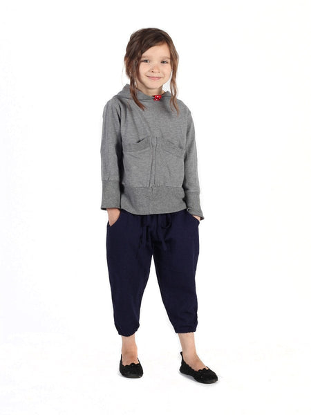 Kids Vita Navy Jogger Pants - The Elephant Pants - 2