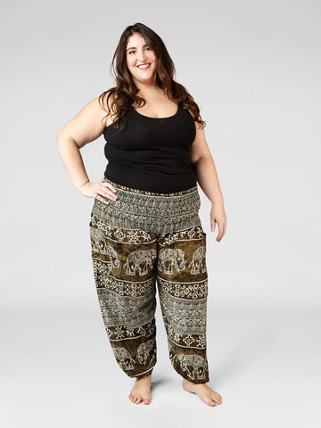 Minnie Olive Plus Size Harem Pants