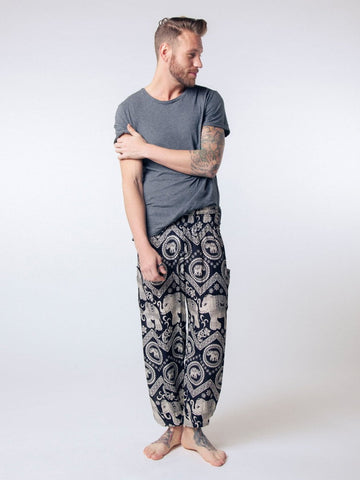 Black Diamond Men's Harem Pants