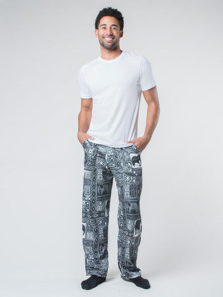 Orok Gray Fleece Lined Pants