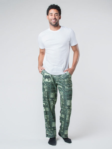 Orok Olive Fleece Lined Pants