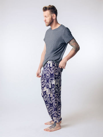 John L Sullivan Men's Harem Pants