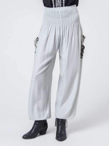 Rombo Gray Harem Pants