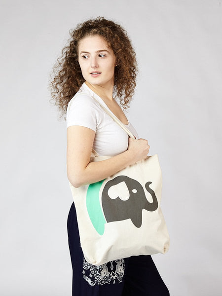 """This Bag Helped Save an Elephant"" Tote"
