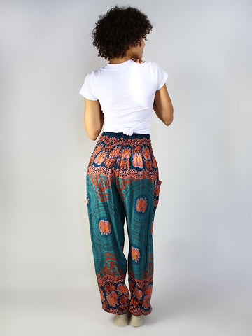 Nellie Teal Harem Pants