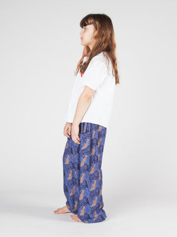 Kids Edie Navy Harem Pants