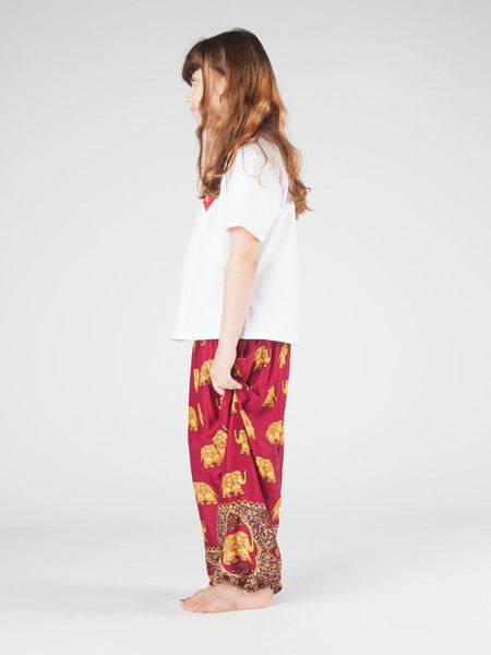 Kids Lizzie Harem Pants