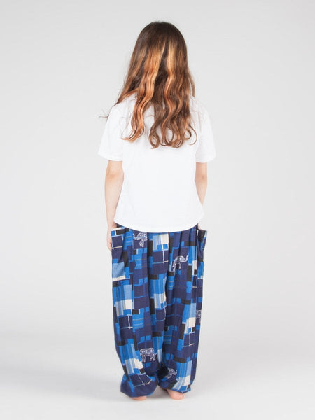 Kids Makena Navy Harem Pants