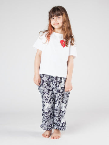 Kids Zurura Navy Harem Pants