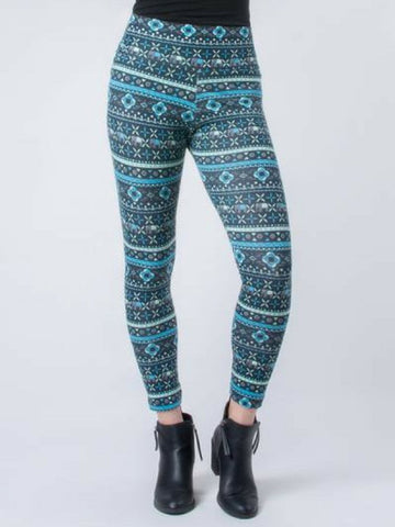 Seree Blue Leggings