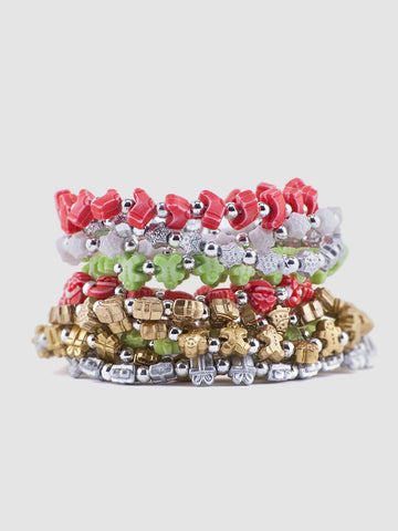 TRRTLZ Christmas Adventure Bracelet (10 Tree Pack)