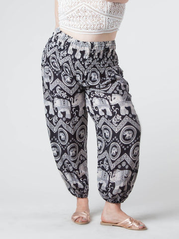 Black Diamond Plus Size Harem Pants