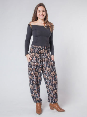 Dani Black Harem Pants