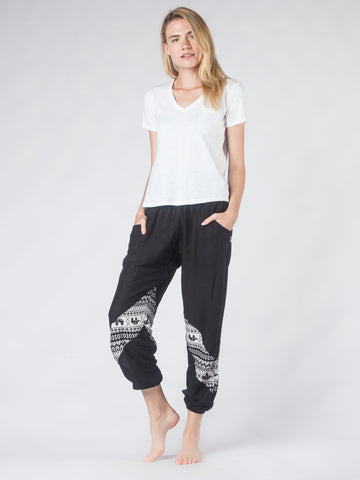 Hattie Black LIMITED EDITION Harem Pants