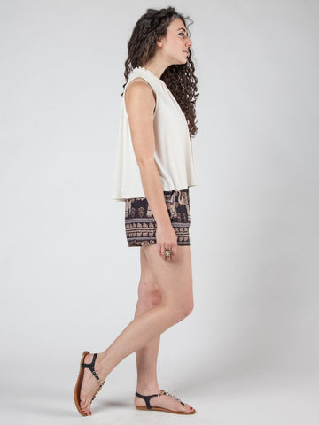 Lenana Black Shorts
