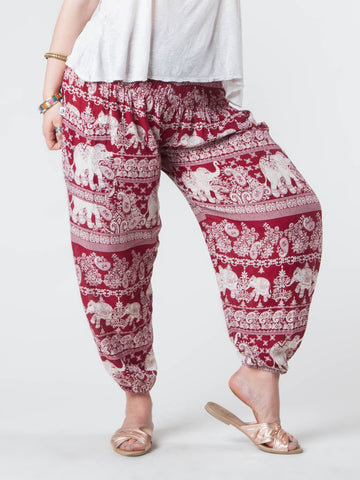 Lydia Plus Size Harem Pants