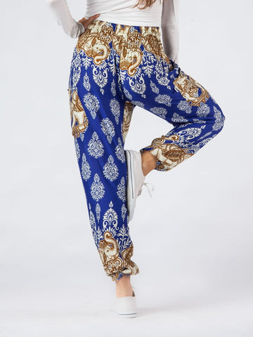 Tange Blue Harem Pants