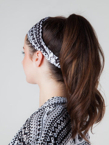 Hattie Black Headband
