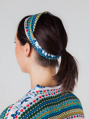 Hattie Teal Headband