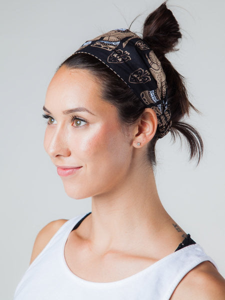 Lenana Black Headband