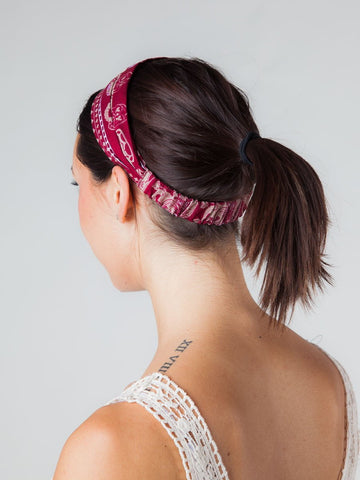 Lenana Burgundy Headband