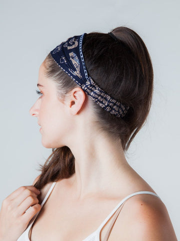 Lenana Navy Headband