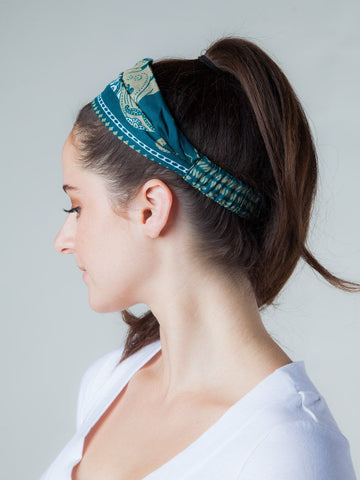 Lenana Teal Headband