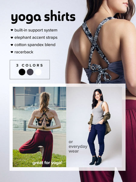 Women's Yoga Seree Gray Cross back Yoga Crop Top Overview