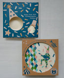 Bunny bamboo tableware for children