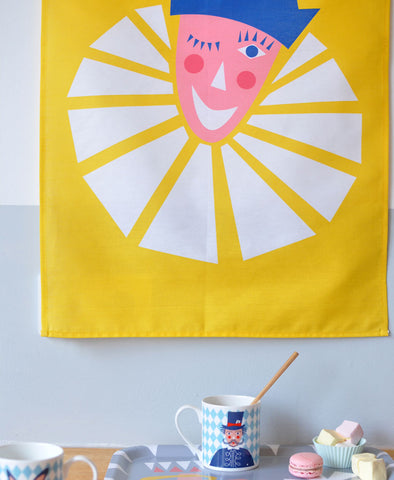 Clown Tea Towel