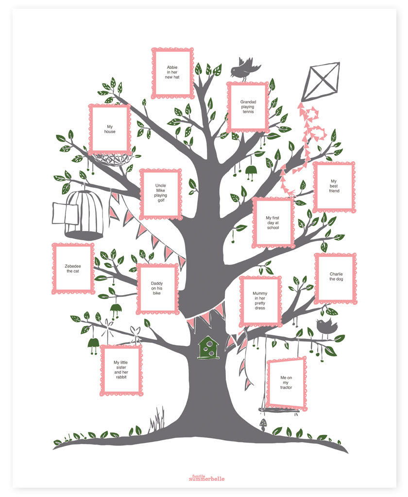 family tree create your family tree gift idea for the family