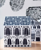 House Boxes, this wonderful pack of four houses is a fantastic solution for storing all of your small objects in a stylish and fun way. Just open up the roof to put things in the House Box!