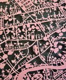 London Paper Cut Map