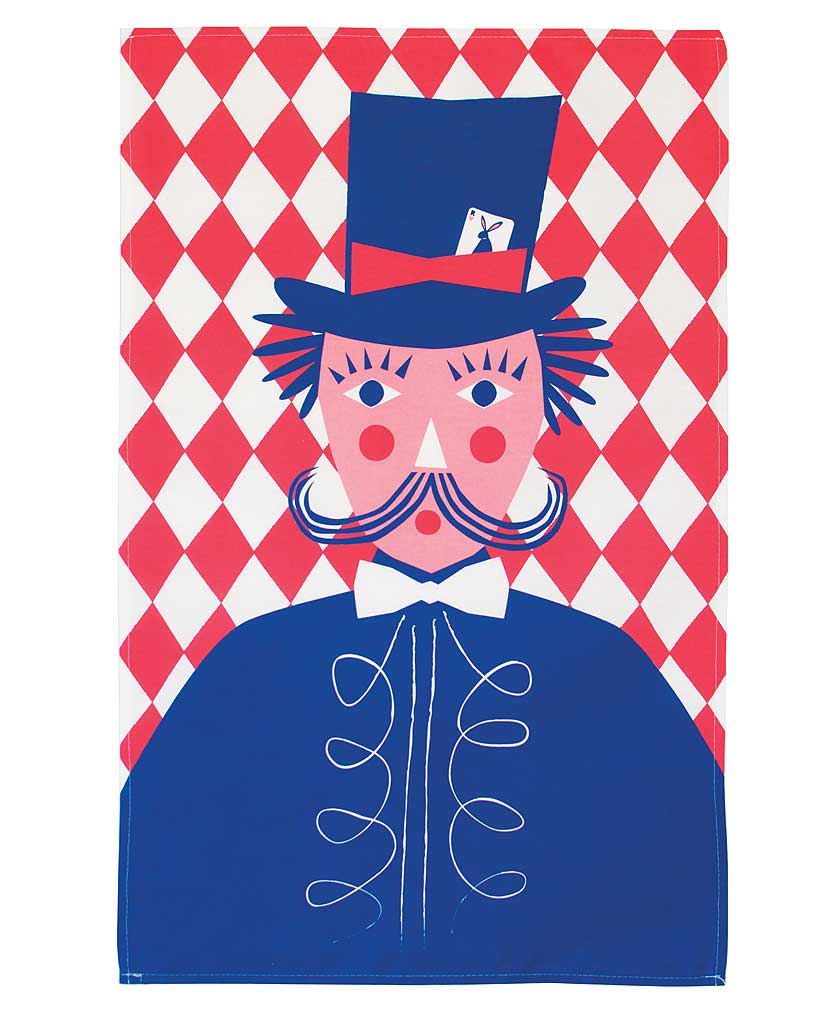 Magician Tea Towel