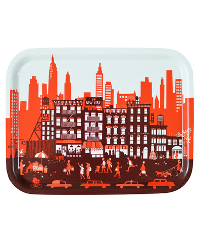 New York City Skyline Tray