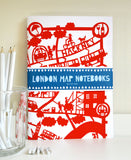 Famille Summerbelle Online Gift Store, papercuts, Paintings London Notebooks