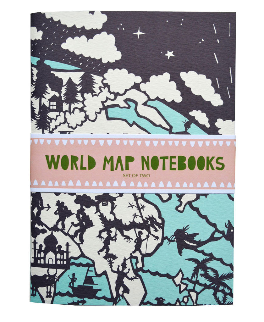 Famille Summerbelle Online Gift Store, papercuts, Paintings Germany World Map Notebooks