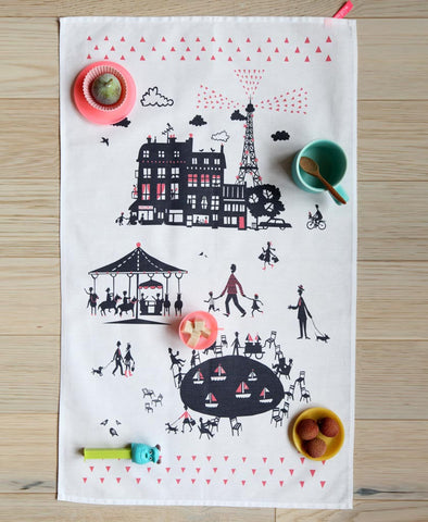 Paris Tea Towel