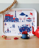 Paris Birch Wood Tray