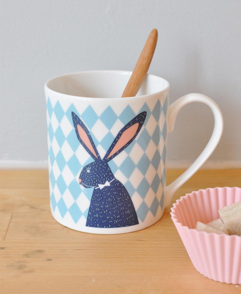 Bunny Ludo and Maximilien the Magician Mug