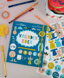 Book+Stickers Vriendenboek