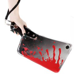 Cleaver Clutch Bag Metallic