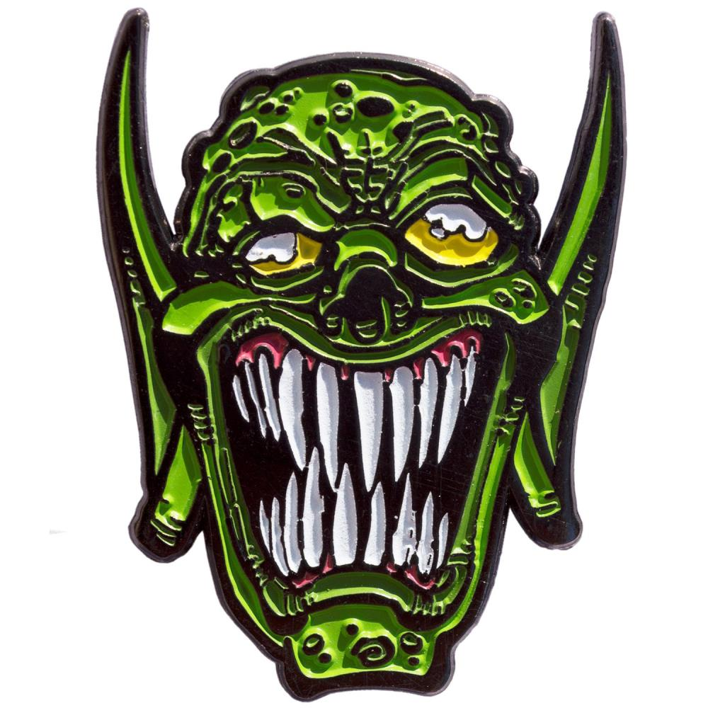 Goosebumps Haunted Mask Enamel Pin