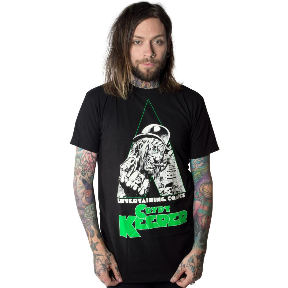Tales From The Crypt Clockwork Tshirt
