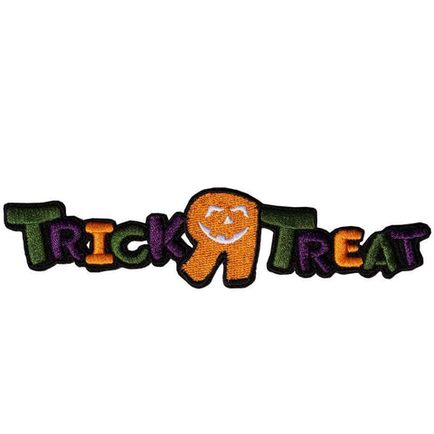 Trick R Treat Logo Patch